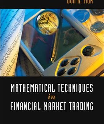 Mathematical Techniques in Financial Market Trading
